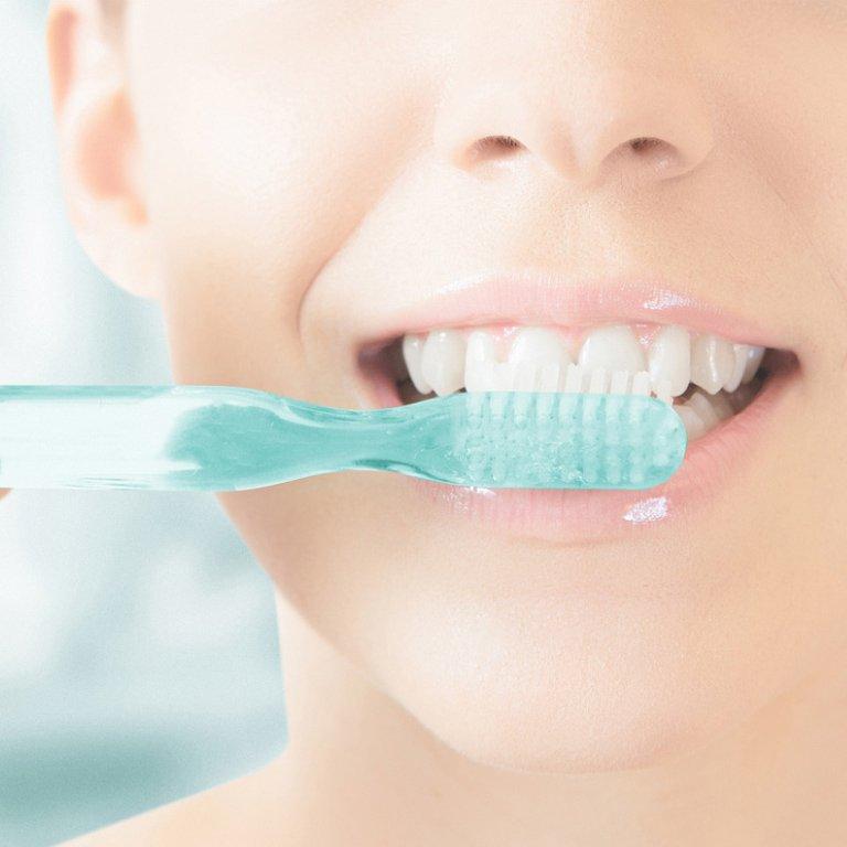 Prohpylaxe mit Mundhygiene